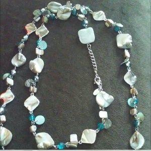 Lia Sophia Aqua Necklace